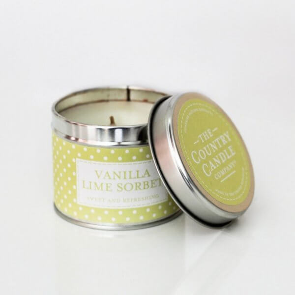 The Country Candle Vanilla Lime Sorbet