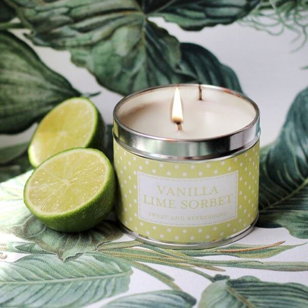 The Country Candle Vanilla Lime Sorbet świeca zapachowa w puszce