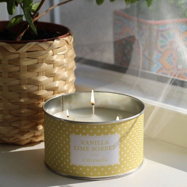 The Country Candle Citronella Vanilla Lime Sorbet