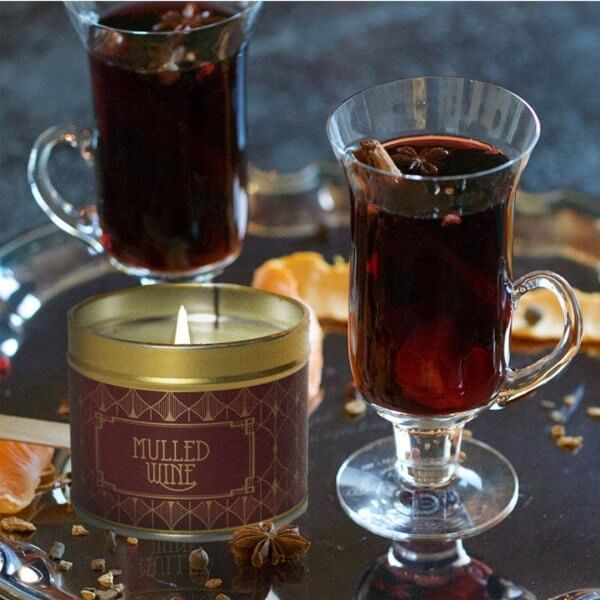 The Country Candle Mulled Wine świeca zapachowa