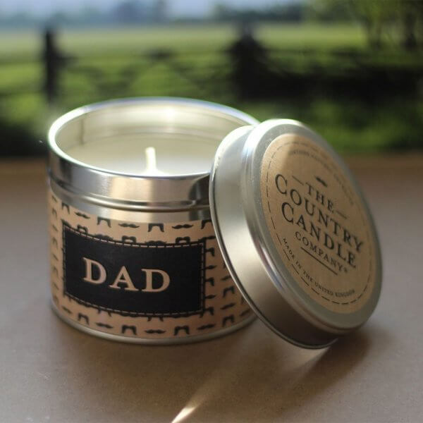 The Country Candle Dad Palisander świeca
