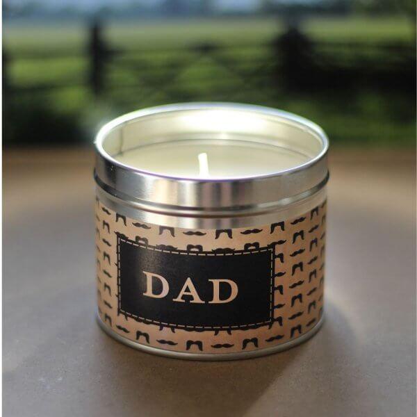 The Country Candle Dad Palisander pomysł na prezent dla taty