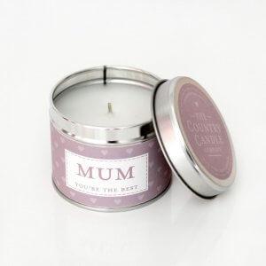 The Country Candle Mum świeca zapachowa, pomysł na prezent dla mamy