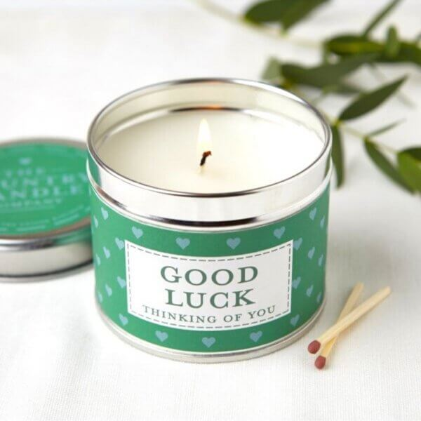 The Country Candle Good Luck świeca w puszce