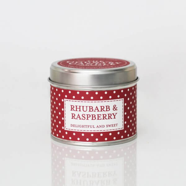 the Caountry Candle Rhubarb&Raspberry