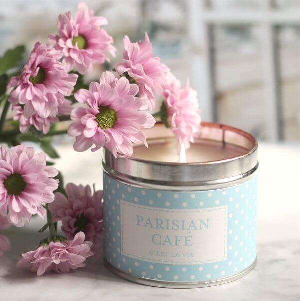 świeca zapachowa Parisian Cafe