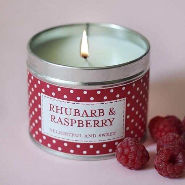 świeca zapachowa the Caountry Candle Rhubarb&Raspberry