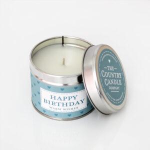 Świeca zapachowa The Country Candle Fresh Happy Birthday prezent urodzinowy