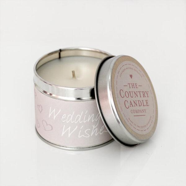 Świeca zapachowa The Country Candle Fresh Wedding Wishes prezent ślubny