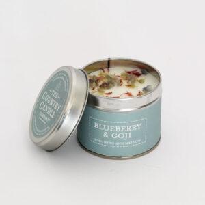 Świeca zapachowa The Country Candle Bluberry&Goji