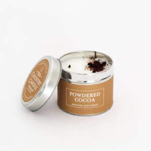 Świeca zapachowa The Country Candle Powdered Cocoa
