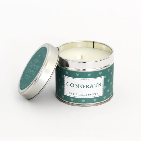 Świeca zapachowa The Country Candle Congrats prezent