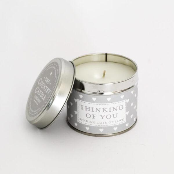 Świeca zapachowa The Country Candle Thinking Of You prezent