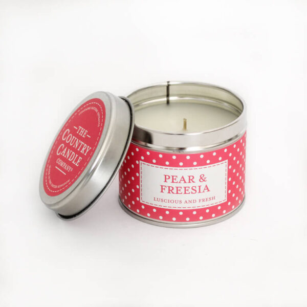 Świeca zapachowa The Country Candle Pear&Freesia