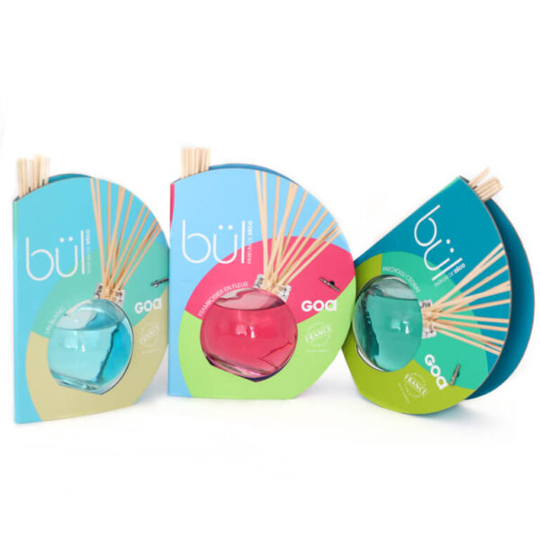 Dyfuzor zapachowy Goa Bul - zestaw z patyczkami