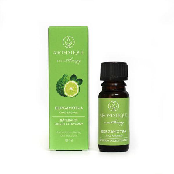 Naturalne olejki eteryczne Aromatique aromaterapia Bergamotka
