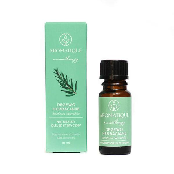 Naturalne olejki eteryczne Aromatique aromaterapia Drzewo Herbaciane
