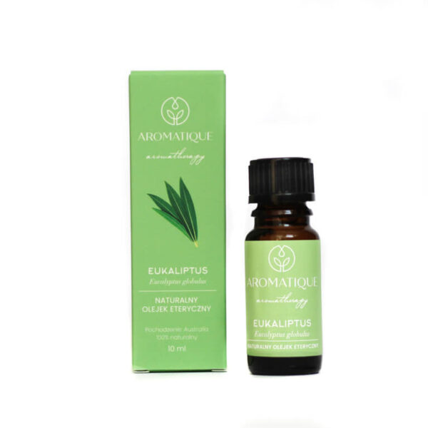 Naturalne olejki eteryczne Aromatique aromaterapia Eukaliptus