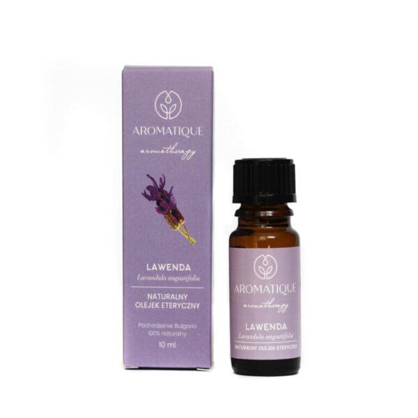 Naturalne olejki eteryczne Aromatique aromaterapia Lawenda