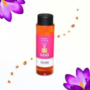 Uzupełniacz patyczków zapachowych goa ambra z szafranem