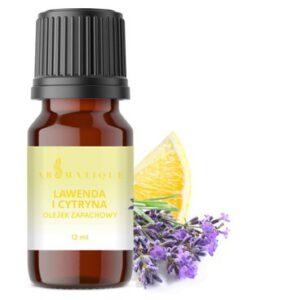olejek zapachowy lawenda i cytryna